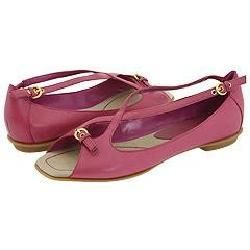 Nine West Torts Medium Pink Leather Flats