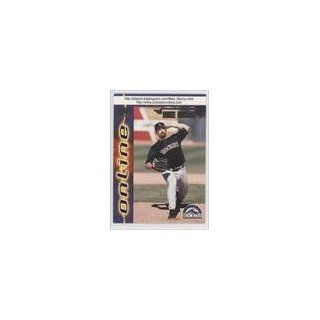 Munoz, Colorado Rockies BB (Baseball Card) 1998 Pacific Online #254