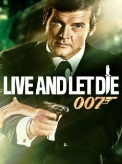 Live And Let Die Roger Moore (James Bond), Jane Seymour