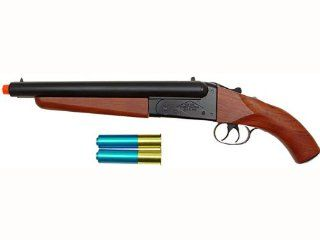 HIS Model 6801 Gas ShotGun/Wood(S) Double Barrel 420 fps