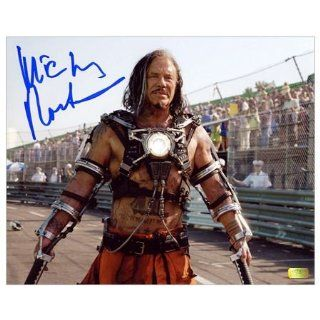 Mickey Rourke Autographed Iron Man 2 Whiplash Photo 8x10