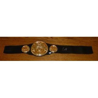 Carlito Signed WWE Tag Team Championship Belt   PSA/DNA