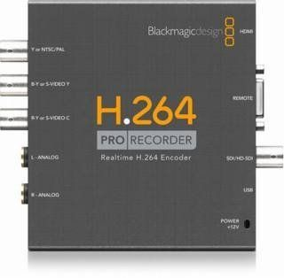 Blackmagic Design H.264 Pro Recorder, Distributes H.264