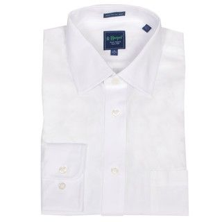 Haspel Mens White Dress Shirt