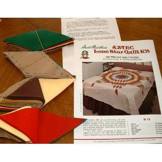 Lone Star Quilt Kit 288 Pre Cut Quilt Pieces. Everything