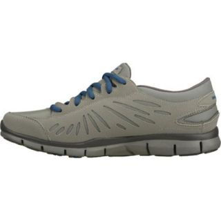 Womens Skechers Gratis Juxtapose Gray/Gray