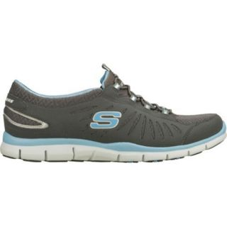 Womens Skechers Gratis In Motion Gray/Blue