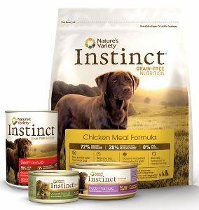 Instinct Grain Free Dry Dog Food, Chicken Meal Formula, 25