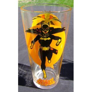 Batgirl Moon Glass Pepsi DC Comics Super Series Vintage