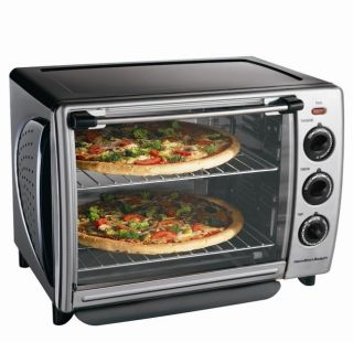 Hamilton Beach 31199R Countertop 1.1 cubic foot Convection Oven with