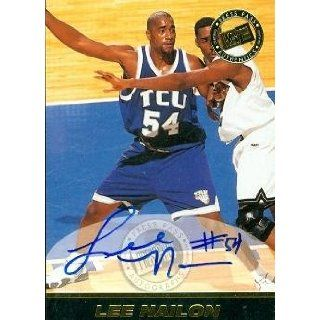 Lee Nailon autographed Basketball Card (TCU) 1999 RCI
