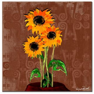 Miguel Paredes Sunflowers VI Canvas Art