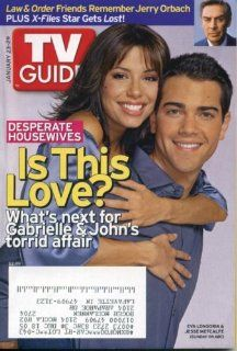 TV Guide January 23, 2005 Eva Longoria & Jesse Metcalfe/Desperate