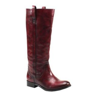 Womens Diba Re Gina Cherry Red Leather