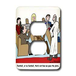 Rich Diesslins Funny General   Editorial Cartoons   Church Usher Gets