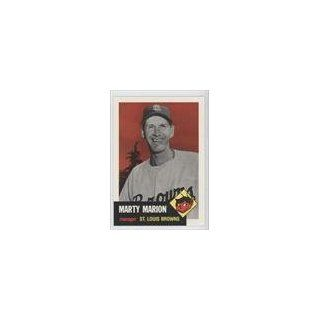 Marion St. Louis Browns (Baseball Card) 1991 Topps Archives 1953 #302