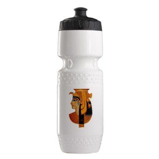 Trek Water Bottle White Blk Egyptian Pharaoh Queen