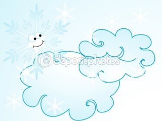 Cartoon snowflake  Stock Vector © Sarka Pistekova #2385534