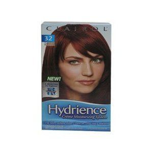 Clairol Hydrience #32 Hibiscus, Dark Red Hair Color (Pack