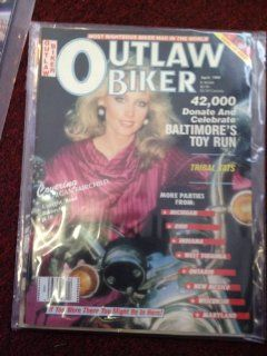 OUTLAW BIKER MAGAZINE (MORGAN FAIRCHILD COVER)   APRIL 1988 ISSUE
