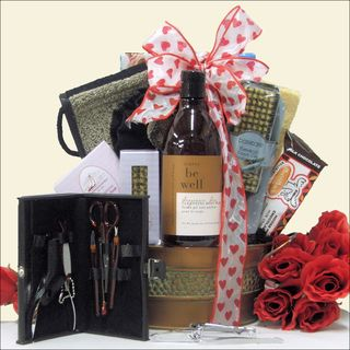 Just for Men Valentines Day Spa Gift Basket