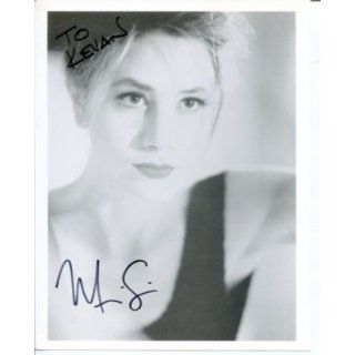 Mira Sorvino Sexy Oscar Winner Signed Autograph Photo