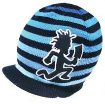 ICP Insane Clown Posse Hatchetman Knit Billed Beanie Hat