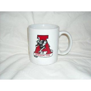 University of Alabama (Crimson Tide) White Coffee Mug
