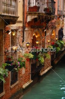 Romantic building in Venice  Stock Photo © tanjakrstevska #2430941