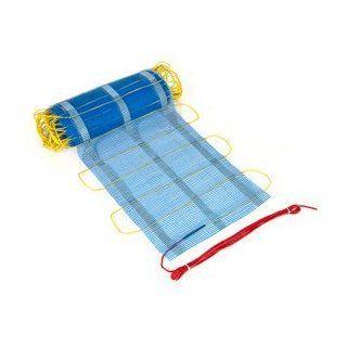 Electric Floor Heating Netmat 150 Sqft   Works Under Tiles, Carpet
