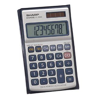 Sharp HO EL326SB Standard Function Calculator Electronics