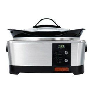 Crockpot Crock pot Sccpqp600 s 6 Quart Designer Series Digital Slow