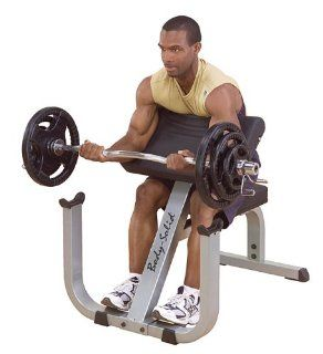 Body Sold Heavy Duty Preacher Arm Curl Weight Station
