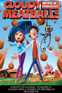Cloudy With A Chance Of Meatballs Bill Hader, Anna Faris