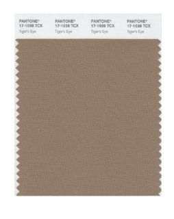 Pantone 17 1038 TCX Smart Color Swatch Card, Tigers Eye