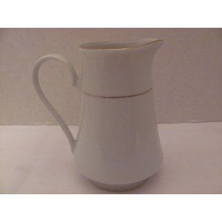 Vintage   CLASSIC GOLD   CREAMER (Cream Pitcher / approx. 4 1/2 Tall