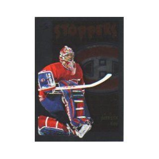 1995 96 Score Black Ice #324 Patrick Roy ST Collectibles