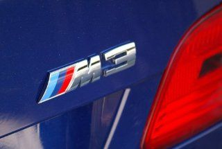 BMW M POWER M3 M5 Z3 Z4 330 325 525 535 EMBLEM
