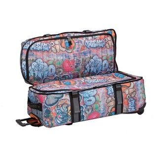 Athalon Graffiti 34 inch Double Decker Wheeled Duffel Bag