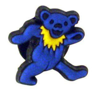 Grateful Dead Blue Dancing Bear Doo Dad Shoe Charm for