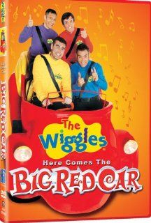 The Wiggles Here Comes the Big Red Car Greg Page, Murray