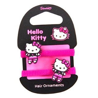 Hello Kitty Haargummi Set LITTLE EMO KITTY darkpink