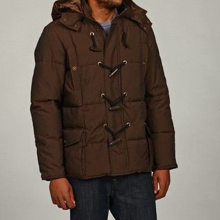 Sean John Mens Toggle Parka with Removable Hood Coat FINAL SALE