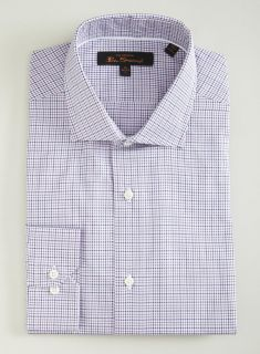Ben Sherman Pink Check Slim Fit Button Down Today $29.99