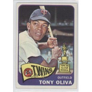 Oliva Minnesota Twins (Baseball Card) 1965 Topps #340 Collectibles