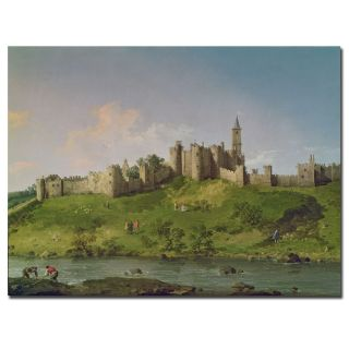 Canatello Alnwick Castle Gallery wrapped Canvas Art