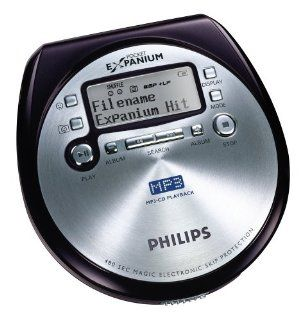 Philips eXpanium EXP 431 Mini CD MP3 Player silber