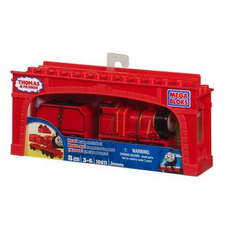 Mega Bloks Thomas and Friends James with Tender