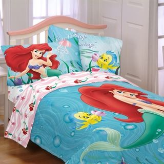 Disney Little Mermaid Sea Friends 4 piece Bed in a Bag with Sheet