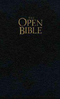 James Version, Black, Bonded Leather, Red Letter Edition (Paperback